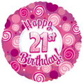 "18"" Foil Numbered Birthday"