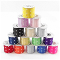 Spotty Satin Ribbon