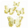 7cm Feather Butterflies