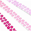 10mm Flower Grosgrain Ribbon