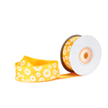 25mm Grosgrain Daisy Ribbon