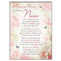Large Plastic Memorial Cards