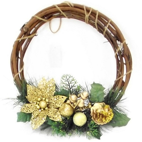 decor noble foliage c fir main garlands hill wreath uk christmas wreaths decorated balsam nbl artificial w