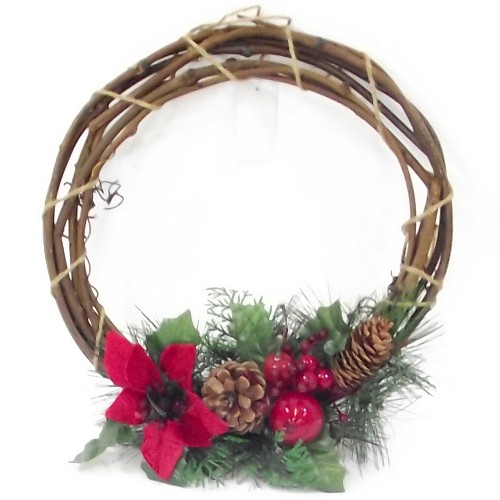 pure wreath decorated bhp inch artificial decor christmas outdoor ebay garden boxwood wreaths indoor