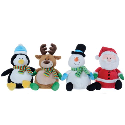 christmas soft toys - Christmas Plush Toys